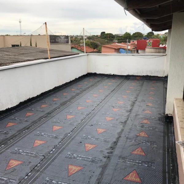 Impermeabilização – Setor Santa Rita